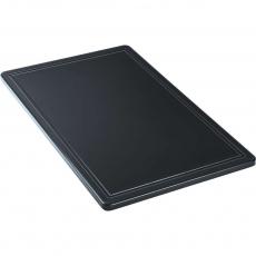 Купить Доска разделочная черная 530х325х15 мм Stalgast 341537