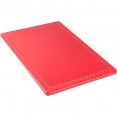 Купить Доска разделочная красная 600х400х18 мм Stalgast 341631