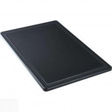 Купить Доска разделочная черная 600х400х18 мм Stalgast 341637