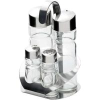 Купить Набор для специй (4 предмета: соль, перец, масло и уксус) Stalgast 362004
