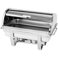 Чафиндиш (емкость для подогрева) Roll-Top GN1/1 600х360 мм, h-380 мм Stalgast 434090 в интернет магазине профессиональной посуды и оборудования Accord Group