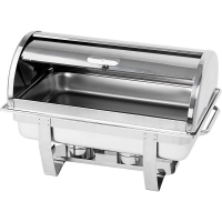 Чафиндиш (емкость для подогрева) Roll-Top GN1/1 600х360 мм, h-380 мм Stalgast 434090