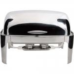 Чафиндиш (емкость для подогрева) Roll-Top DELUX 670х520 мм, h-450 мм Stalgast 437010