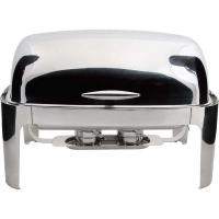 Чафиндиш (емкость для подогрева) Roll-Top DELUX 670х520 мм, h-450 мм Stalgast 437010 в интернет магазине профессиональной посуды и оборудования Accord Group