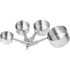 Купить Набор мерных чашек 4 шт Stalgast 506015 (60/80/125/250 мл)