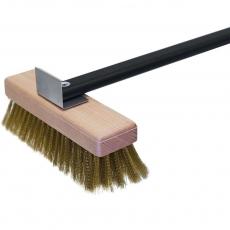 Купить Щетка для чистки печей L-1100 мм Stalgast 564401, изготовлена из латуни