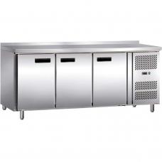 Стол холодильный 3-х дверный с бортом Stalgast 841036