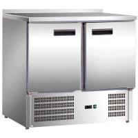 Стол холодильный Stalgast 2-х дверный нижний агрегат 842029 в интернет магазине профессиональной посуды и оборудования Accord Group
