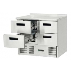 Стол холодильный Stalgast 4 выдвижных ящика 842041