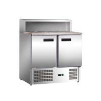 Стол холодильный для пиццы Stalgast, 2-х дверный 843029 в интернет магазине профессиональной посуды и оборудования Accord Group