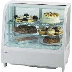 Купить Витрина холодильная настольная Stalgast, 100 л, белая, 852100