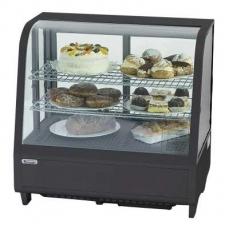 Купить Витрина холодильная настольная Stalgast, 100 л, черная, 852101