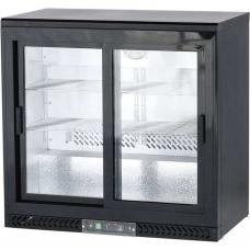Шкаф холодильный барный Stalgast, 202 л, 882161, двери - купе
