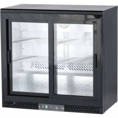 Купить Шкаф холодильный барный Stalgast, 202 л, 882161, двери - купе