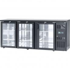 Купить Шкаф холодильный барный Stalgast, с боковым агрегатом, 537 л, двери распашные, 882181