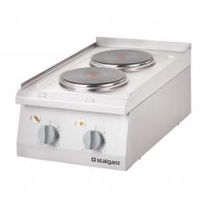 Купить Плита электрическая 2-х конфорочная настольная Stalgast 9705000