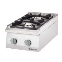 Купить Плита газовая 2-х конфорочная настольная Stalgast 9705110