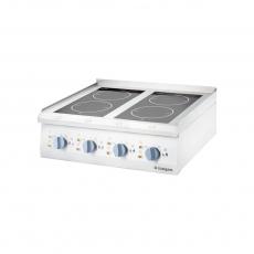 Купить Плита стеклокерамическая 4-х конфорочная настольная Stalgast 9706500