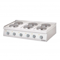 Купить Плита электрическая 6-ти конфорочная настольная Stalgast 9707000