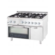 Купить Плита газовая 6-ти конфорочная с духовкой Stalgast 9711110