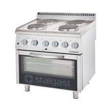 Плита электрическая 4-х конфорочная с духовкой Stalgast 9715000