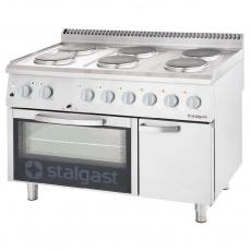 Купить Плита электрическая 6-ти конфорочная с духовкой Stalgast 9717000