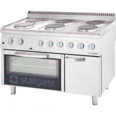 Купить Плита электрическая 6-ти конфорочная с духовкой Stalgast 9718000
