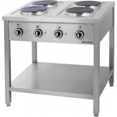 Купить Плита электрическая 4-х конфорочная на открытой базе Stalgast 979500