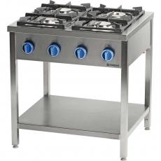 Купить Плита газовая 4-х конфорочная на открытой базе Stalgast 979513