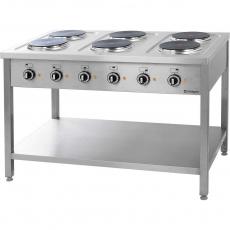 Купить Плита электрическая 6-ти конфорочная на открытой базе Stalgast 979600