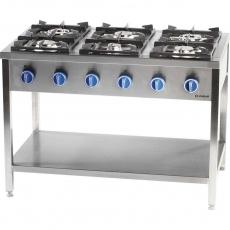 Купить Плита газовая 6-ти конфорочная на открытой базе Stalgast 979621