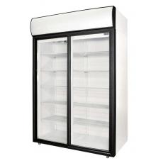 Шкаф холодильный со стеклянной дверью 1000 л Polair DM110Sd-S
