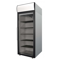 Шкаф холодильный со стеклянной дверью 500 л Polair DM105-G