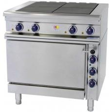 Купить Плита электрическая 4-х конфорочная с духовкой Kogast ES-T47/1