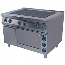 Купить Плита электрическая 6-и конфорочная с духовкой Kogast ES-T67/1-0