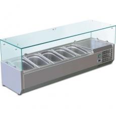 Купить Витрина холодильная настольная (5xGN1/4) Cooleq VRX 1200/330