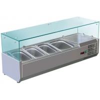 Витрина холодильная настольная (3хGN1/3 + 1xGN1/2) Cooleq VRX 1200/380