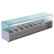 Купить Витрина холодильная настольная (7xGN1/4) Cooleq VRX 1500/330