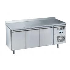 Купить Стол морозильный 3-х дверный с бортом Forcold G-GN3200BT-FC