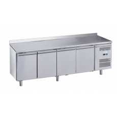 Стол морозильный 4-х дверный с бортом Forcold G-GN4200BT-FC
