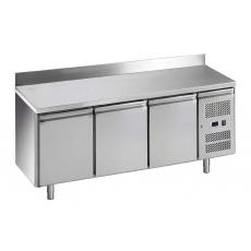 Купить Стол холодильный 3-х дверный Snack с бортом Forcold G-SNACK3200TN-FC