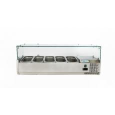 Купить Витрина холодильная настольная (5хGN1/4) Forcold G-VRX1200-330