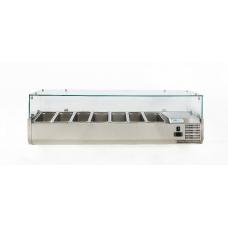 Витрина холодильная настольная (7хGN1/4) Forcold G-VRX1500-330