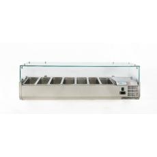 Купить Витрина холодильная настольная (7хGN1/4) Forcold G-VRX1500-330