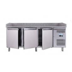 Купить Стол для пиццы 3-х дверный с гранитной поверхностью Forcold G-PZ3600TN-FC