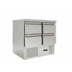 Купить Стол холодильный 4 выдвижных ящика без борта Forcold G-S9014D-FC