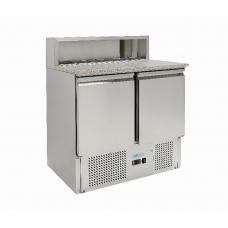 Стол для пиццы 2-х дверный с гранитной поверхностью G-PS900-FC