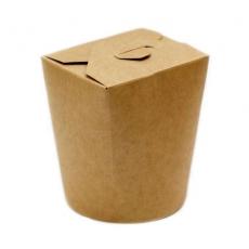 Купить Коробка для лапши крафт 950 мл, 50 шт/уп, 102x89 мм, h-115 мм