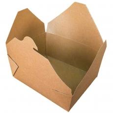 Купить Лоток крафт, 900 мл, 50 шт/уп, 180х130х55 мм
