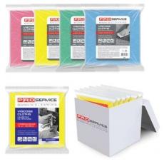 Купить Салфетки вискозные Professional, размер 32х38 см, плотность 115 гр/м2,  5 шт/уп, розовые